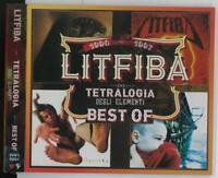 LITFIBA TETRALOGIA DEGLI ELEMENTI BEST OF 1990 1997 EDIT.2 CD + DVD OTTIMO USATO