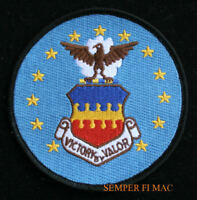 20th TFW US AIR FORCE PATCH RAF Upper Heyford UK PIN UP GIFT VICTORY BY VALOR