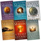 A Game of Thrones 6 Book Set George R R Martin Pack New
