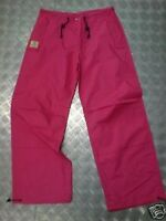 "Jungle Drawstring Parachute / Cargo Trousers Pink Max Waist 32"". NEW"