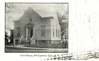 Antique POSTCARD c1905 Acton Library OLD SAYBROOK, CT CONN.