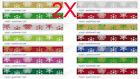 AY10 New W 9 MM Snowflake Christmas Gift Packaging Belt Wholesale Lots 2 PCS