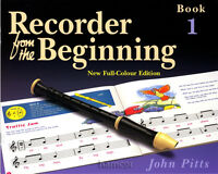 Recorder from the Beginning Book 1 Learn How to Play & Read Music Tutor Method