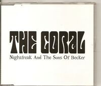 THE CORAL Nightfreak And The Sons Of Becker PROMO CD ALBUM