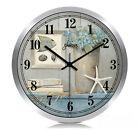 European Creative Quartz Super Mute Parlour/Bedroom/Study 12-inch Wall Clock
