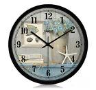 European Creative Quartz Super Mute Parlour/Bedroom/Study 14-inch Wall Clock