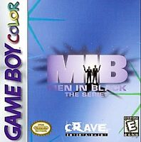 Men in Black: The Series (Nintendo Game Boy Color, 1998) CART ONLY!