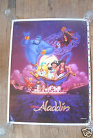 WALT DISNEY'S ALADDIN TEST PROOF MINI POSTER ROLLED