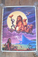 WALT DISNEY'S THE LION KING TEST PROOF MINI POSTER ROLLED