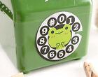 Lovely Style S 10.2*11*16.2 CM Green Plastic Homeware Telephone Model Piggy Bank