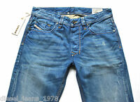 DIESEL LARKEE 8PI JEANS 30X32 100% AUTHENTIC REGULAR FIT STRAIGHT LEG