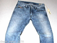 DIESEL ROMBEE 880I JEANS 30X32 100% AUTHENTIC REGULAR SLIM FIT STRAIGHT LEG