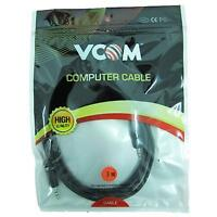 NEW! Vcom 3.5Mm Male Stereo Jack To 3.5Mm Male Stereo Jack Audio Cable Audio Cab
