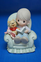 Pooh Everything's Better w/ Friend Disney Precious Moments 2005 Figurine First