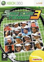 Smash Court Tennis 3 (Microsoft Xbox 360, 2008, DVD-Box)