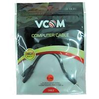 NEW! Vcom 3.5Mm Male Stereo Jack To 2X 3.5Mm Female Stereo Jacks Audio Splitter