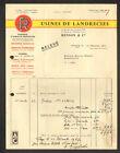 "LANDRECIES (59) USINE de FONDERIE / MACHINES AGRICOLES ""RENSON & Cie"" en 1967"