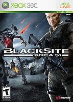 BlackSite: Area 51 (Microsoft Xbox 360, 2007) GOOD