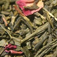 Sencha Kyoto Cherry Rose Green Tea ORGANIC 1 lb.  Come visit our HUGE tea shop!