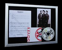 30 SECONDS TO MARS Beautiful Lie LTD CD FRAMED DISPLAY+EXPRESS GLOBAL SHIPPING!!