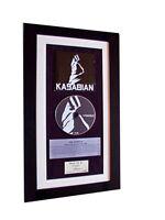KASABIAN Debut 1st CLASSIC CD Album QUALITY FRAMED-GIFT