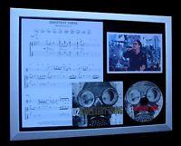 U2 Sweetest Thing LTD NOD QUALITY CD FRAMED DISPLAY+EXPRESS GLOBAL SHIP!!