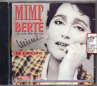 MIMI BERTE MIA MARTINI CD Le origini MADE in ITALY 1A Edizione FUORI CATALOGO