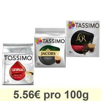 Tassimo Espresso Wake-Up : Jacobs, Gevalia, Carte Noire, Café, Capsules Lot de 3