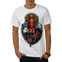 Satan Devil Bull Horror Men T-shirt S-5XL NEW | Wellcoda
