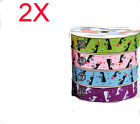 Popular W 9 MM Double-Sided Dacron Gift Packaging Belt Wholesale Lots 2 PCS