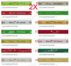 AY05 Popular W 9 MM Christmas Hat Gift Packaging Belt Wholesale Lots 2 PCS