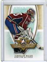 JAROSLAV HALAK 07/08 ITG BTP FUTURE OF GOALTENDING INSERT Hockey Card Rookie