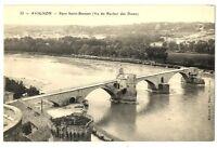 CPA 84 Vaucluse Avignon Pont Saint-Bénézet