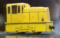 GE 25T INDUSTRIAL DIESEL HOn3 Narrow Gauge Power Locomotive Plastic Kit GL7090