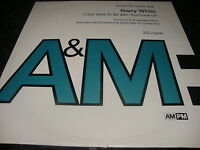 """Barry White I Only Want To Be With You (PS) 12"""" Vinyl Single"""