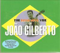 THE BOSSA NOVA VIBE OF JOAO GILBERTO - 2 CD BOX SET