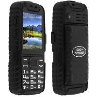 Téléphone portable standard militaire Étanche Double Sim - Guo-Phone A6 - Noir