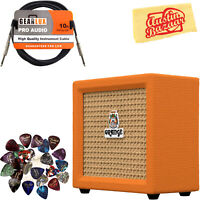 Orange Crush Mini Guitar Combo Amplifier w/ Instrument Cable