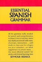 Essential Spanish Grammar (Beginners' Guides), Seymour Resnick,0486207803, Book,