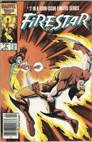 FIRESTAR 2 1986 MARVEL LIMITED SERIES X-MEN NEW MUTANTS RARE NEWSSTAND VARIANT