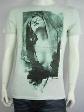 Mooks Mens Cotton Decoletage Tee T Shirt size Small Large XL Colour Mint