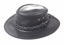 Pelle Stile Western Cowboy Cespuglio Classic Da Uomo Donna Hat venditore UK
