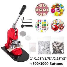 """1000 1/"""" Complet Bouton Machine Parts"""