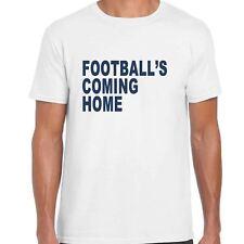 football's Coming Home Hombres Camiseta - Copa Del Mundo 2018 Inglaterra