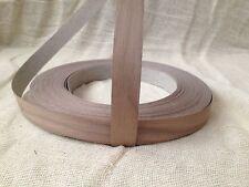 Walnut Veneer Pre Glued Iron on EdgingTape/Banding 18mm 22mm 30mm 40mm 50mm