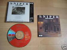 MASAKI MATSUBARA Sniper 1985 JAPAN CD album