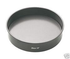 "Kitchen Craft MC ANTIADERENTE LOOSE base Sandwich SPUGNA CAKE PAN TIN 6 "" 7"" 8 "" 9"""