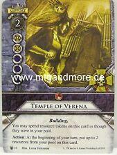 Warhammer Invasion - 1x Temple of Verena  #044
