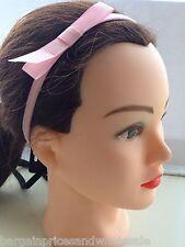 2pc Noeud En 4 Couleurs Long épais stretch Bandeau/Cheveux Pompon Bandes Tête 10 mm