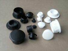 Hole Plugs Plastic Blanking Masking Finishing Inserts  / Black or White
